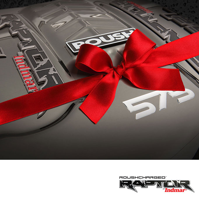 Roush Raptor w Red Bow